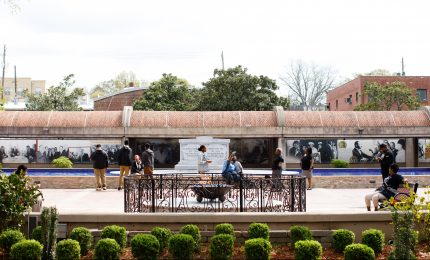 Visitors to Dr. King's Tomb Recall His Life and Assassination, 50 Years Later
